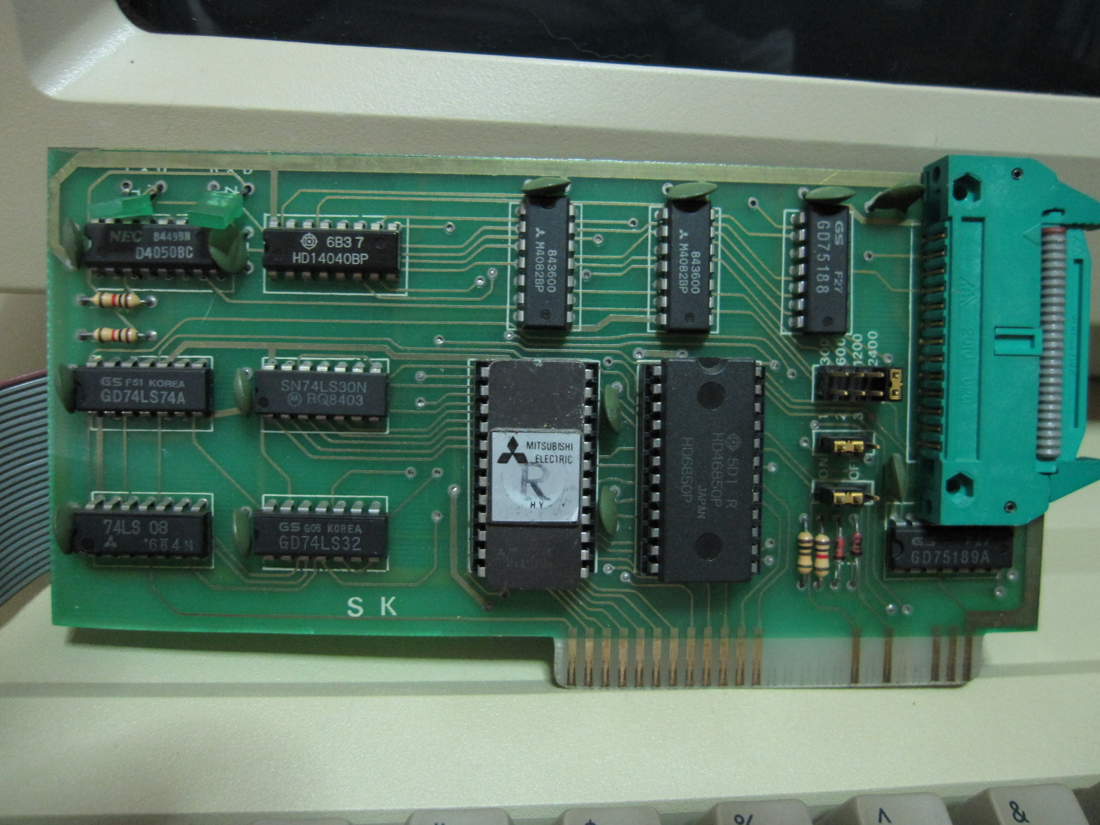 RS-232C Serial Card - How can I use it for ADT or ADTPro?