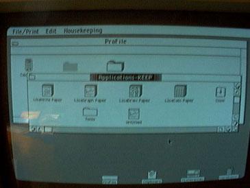 Apple Lisa - screenshot