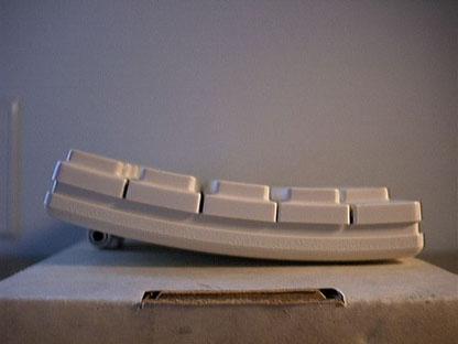 Cassie keyboard - side