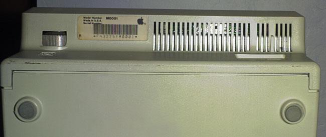 Mac 128k - serial number