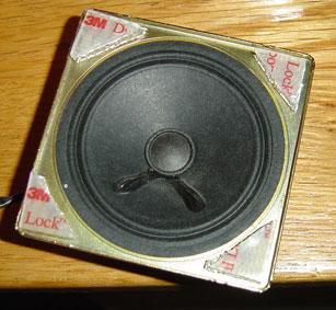 Quadra 7100b - Speaker Installatino