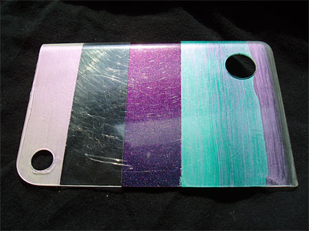 Color-changing paint, the tests