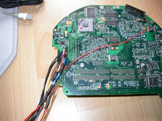 wiring of the board