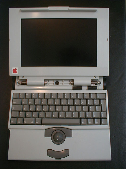 White Powerbook 140 - top