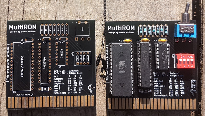 MultiROM Production cards