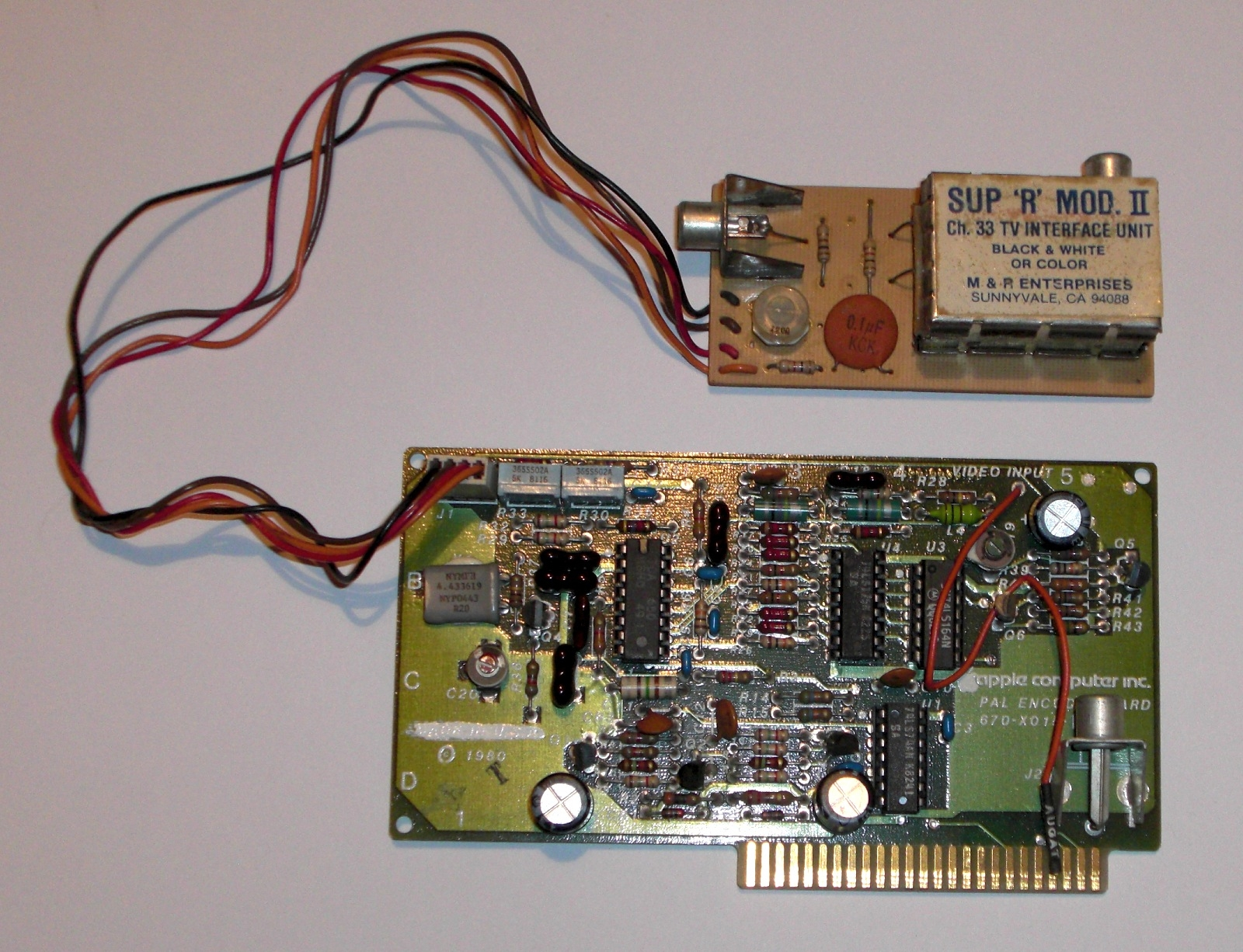Apple PAL Encoder Card