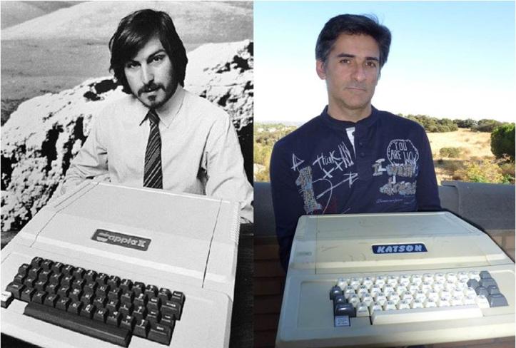 KATSON & KATSON II Popular Apple II Clone of the 80's produced in SPAIN