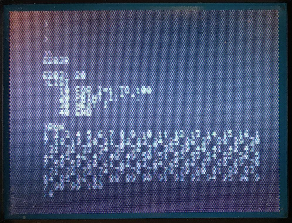 A1 monitor BASIC