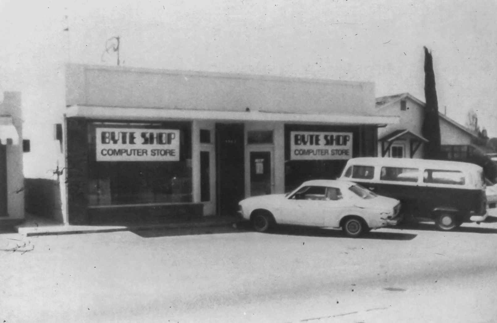 The Byte Shop circa 1976