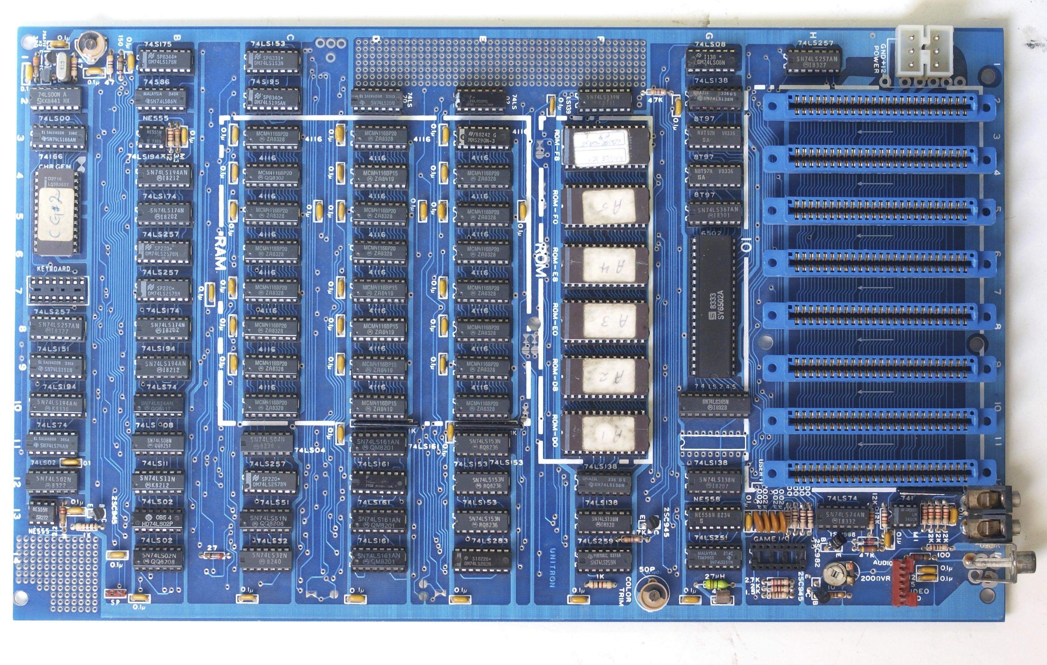 Unitron II+ board