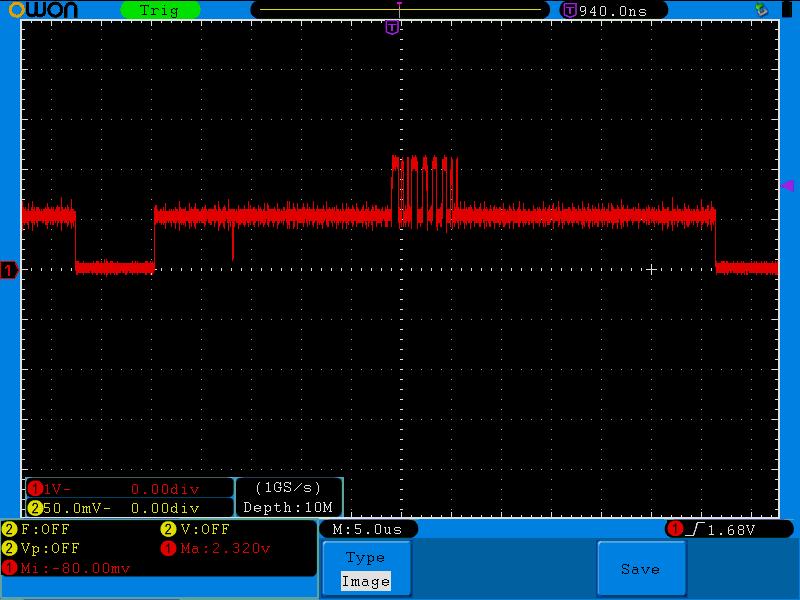 Apple II noisy composite signal