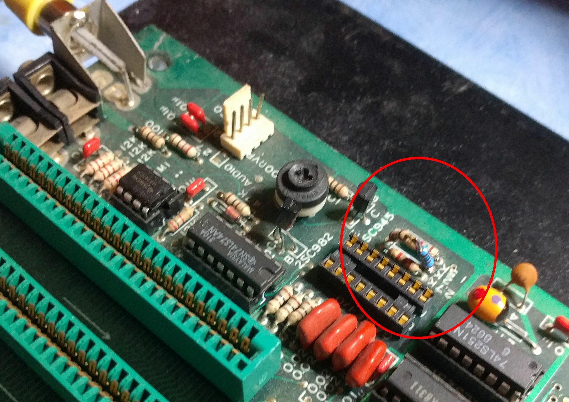 2k resistor repair