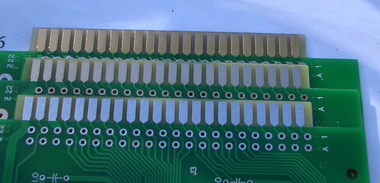 PCB edge connector comparision