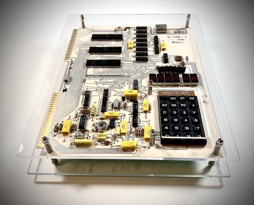 KIM-1 in acrylic case