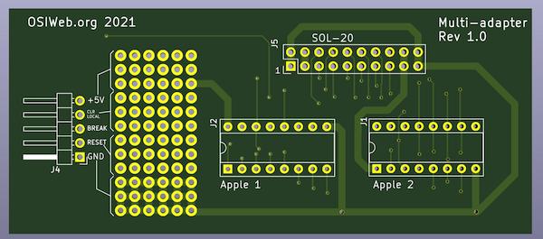 Keyboard adapter