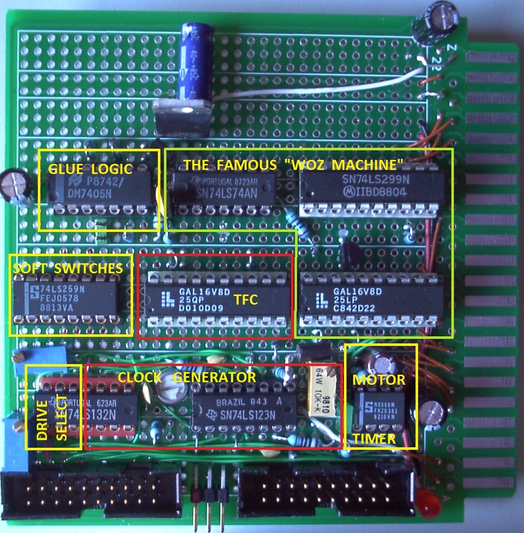 Uncle Bernie's Floppy Disk Controller for Apple-1