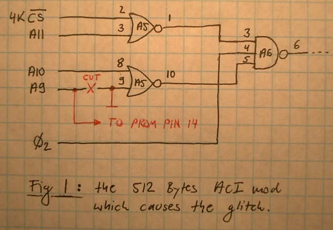 The harmless looking circuit mod having the glitch