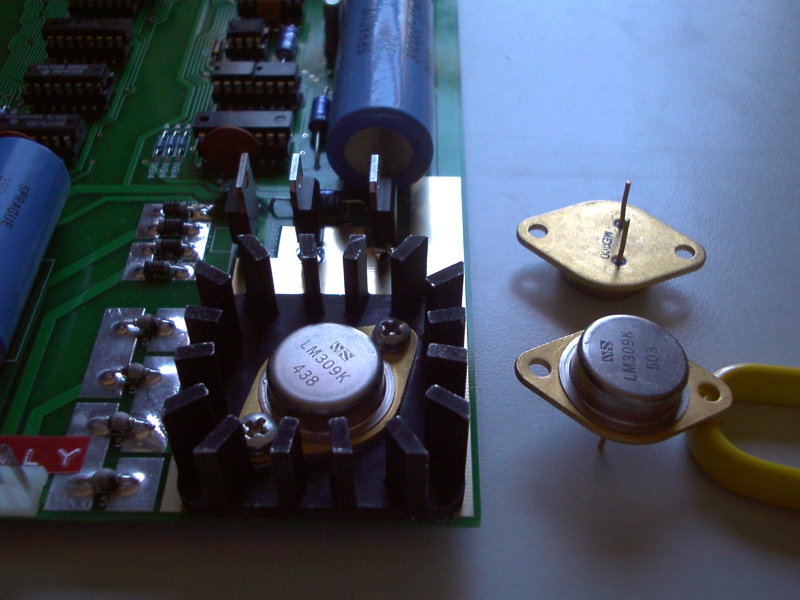 Golden Base Regulator in Apple-1
