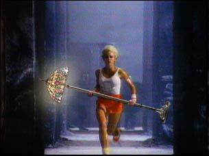 1984 commercial for lightbulb thread