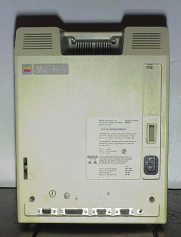 Mac 128k - back