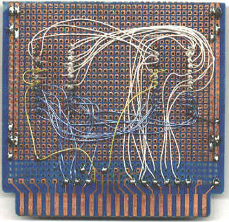 Apple I - eprom card back