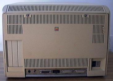 Apple Lisa - back