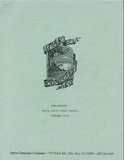 Apple I - BASIC manual 2