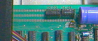 Apple I - breadboard area