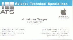 ATS business card
