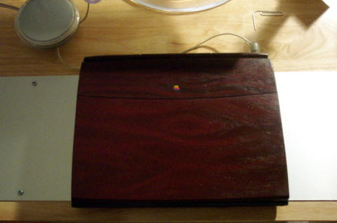 Woodgrain-modded PB 1400cs G3 233 For Sale