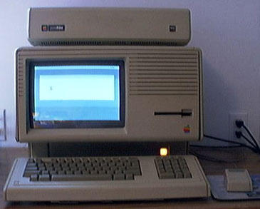 Apple Lisa - front