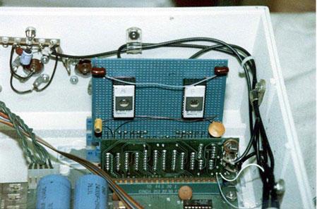 Apple I - eprom card inserted
