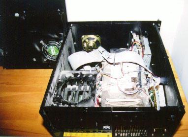 Autovision 90 - inside
