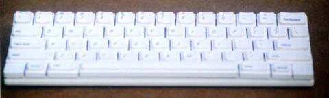 Cassie keyboard - front view 2
