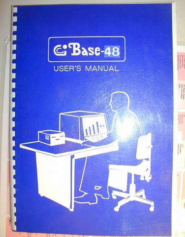 Base 48 - manual cover