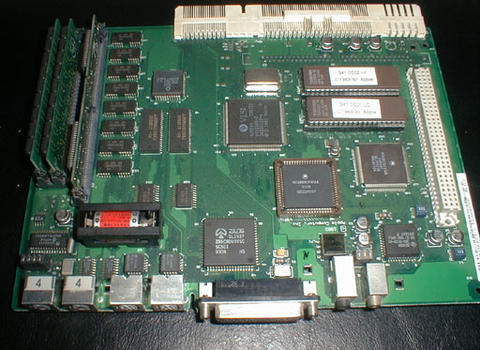 Green Color Classic - motherboard