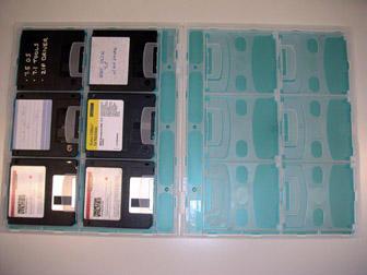 Original floppy case