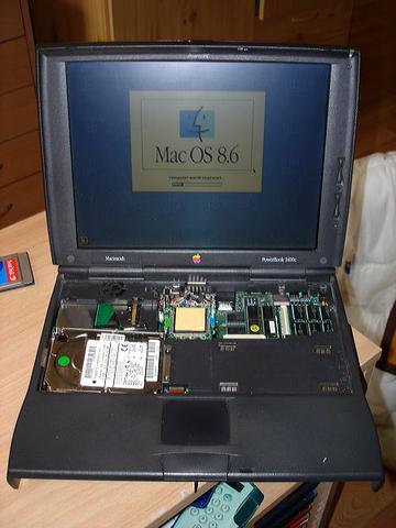 PB1400c installing MacOS8.6