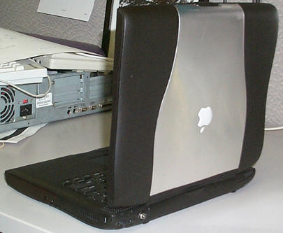 Darth Maul PowerBook - rear