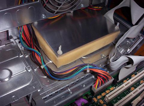 G3 hard drive sandwich