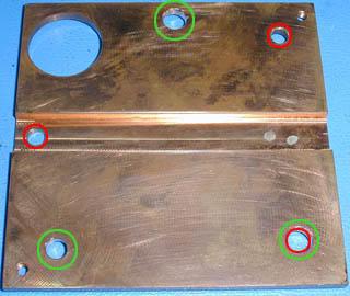 Blue Smoke 2 - spreader holes