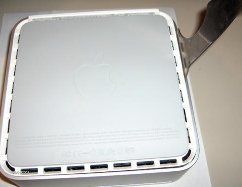 Intel Mac mini: Take Apart Guide (RAM & HD)   Applefritter