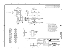 Re-Created Apple-1 Schematics by retroplace.com